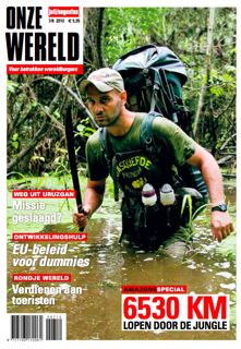 Onze Wereld - Front Cover Ed Stafford