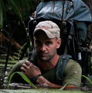 Ed Stafford photographed by Keith Ducatel in Peru in 2008